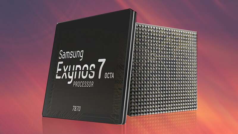 Samsung công bố chip Exynos 7870
