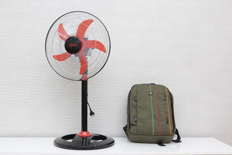 Quạt đứng Lifan Đ 616 XI thiết kế đơn giản, sang trọng, an toàn khi sử dụng