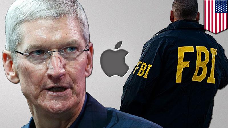 Apple gặp khó khăn khi xung đột với FBI