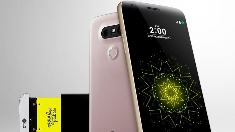 LG G5 chính thức ra mắt với camera kép, chip Snapdragon 820