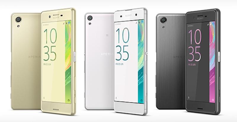 Bộ ba smartphone Xperia X mới của Sony