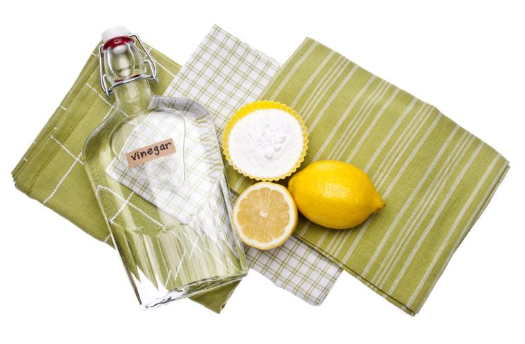 Giấm, cacbonat, chanh là những phương pháp thông dụng để tẩy cặn