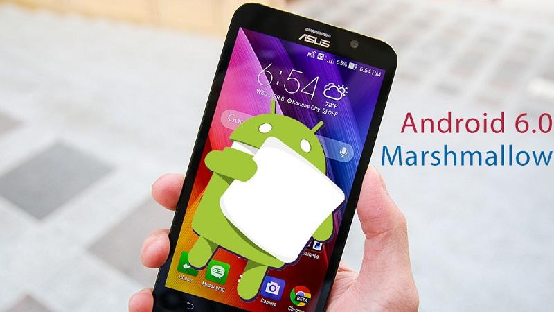 Thời điểm Asus ZenFone 2/Zoom/Max được lên đời Android 6.0