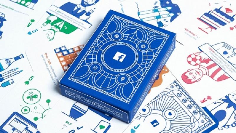 Sắp ra mắt bộ bài mang tên Facebook