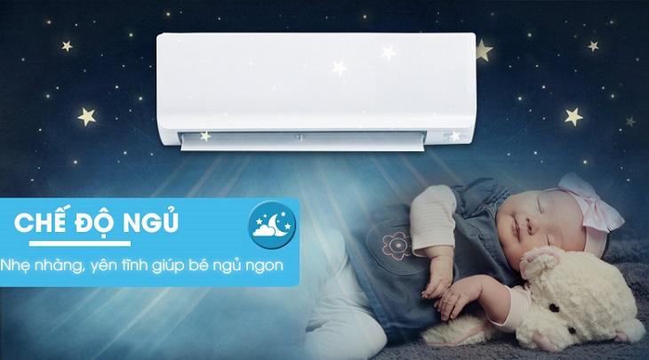 Kết quả hình ảnh cho máy lạnh được ứng dụng các chế độ dành cho giấc ngủ