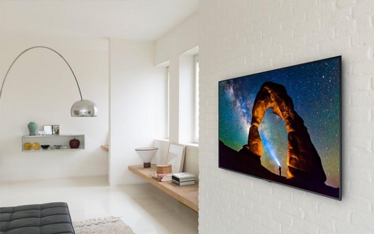 Smart tivi có thể dễ dàng treo tường