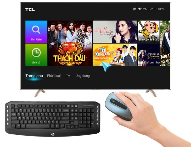 Cách kết nối chuột, bàn phím với Smart tivi