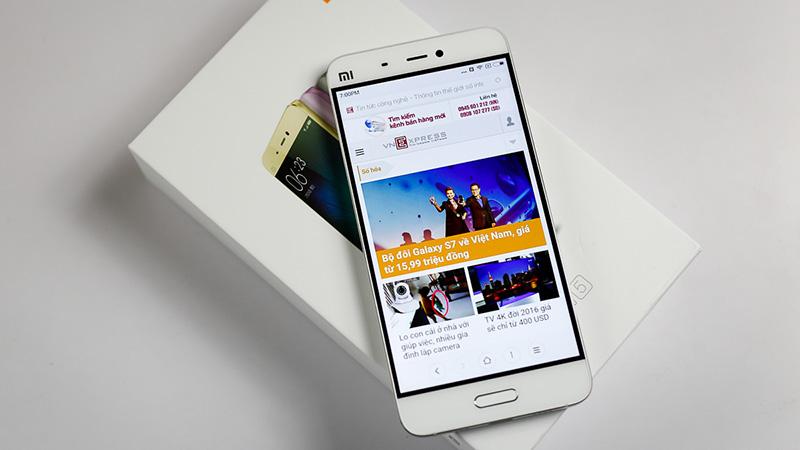 Xiaomi Mi 5 đạt doanh thu 4 triệu chiếc trong ngày đầu lên kệ