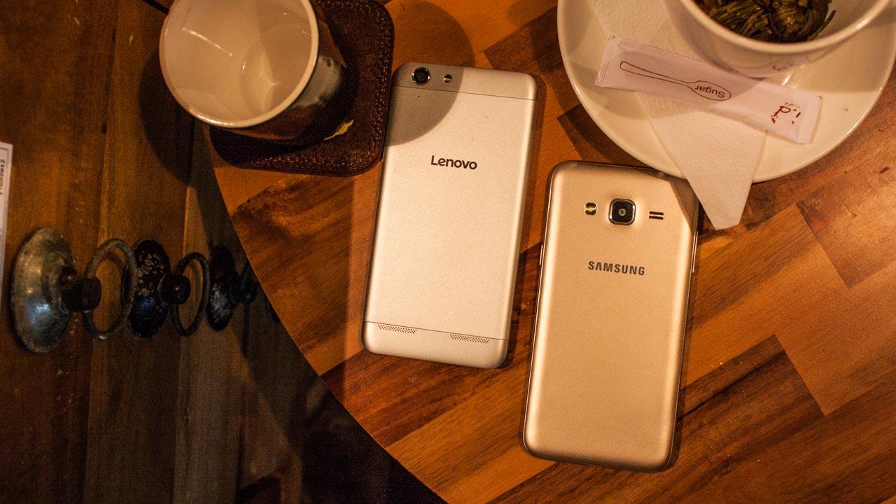 So sánh Lenovo A6020 vs Galaxy J3 1