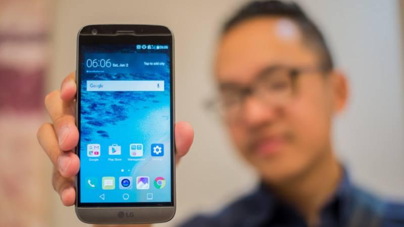 LG G5 bắt đầu bán ra với mức giá cao