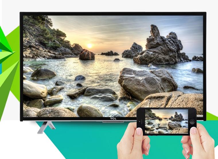 Tivi cho phép chuyển hình lên tivi qua TCL nScreen