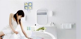 Đèn sưởi nhà tắm có phải chỉ dùng để sưởi?