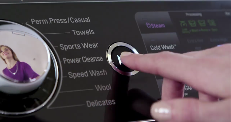 Turbowash trên máy giặt LG là gì?