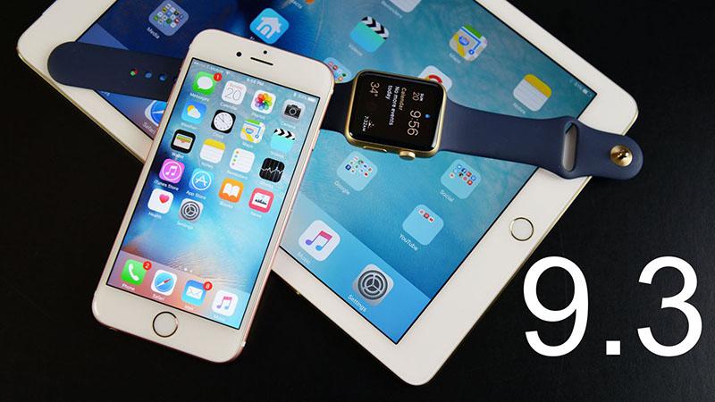 """Bản cập nhật iOS 9.3 khiến nhiều máy iPad 2 thành """"cục gạch"""""""