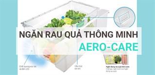 Ngăn đựng rau quả Aero-Care trên tủ lạnh cao cấp Hitachi