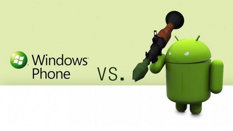 Android tiếp tục tiến lên, Windows Phone trượt dốc không phanh