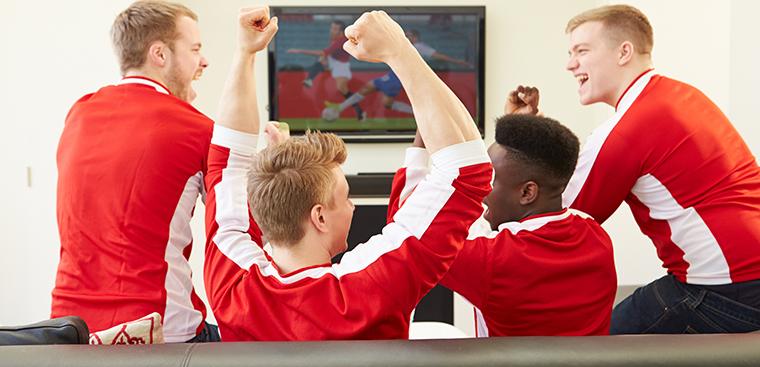 tivi TCL xem Euro thỏa thích