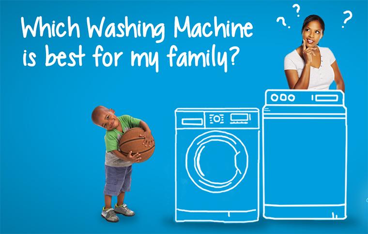 Chọn máy giặt dư ra khoảng từ 1 tới 2 kg để đảm bảo hiệu quả giặt