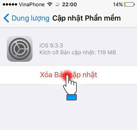 Tắt thông báo cập nhật iOS cho iPhone như thế nào? - 254920