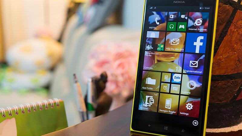 cập nhật windows 10 mobile