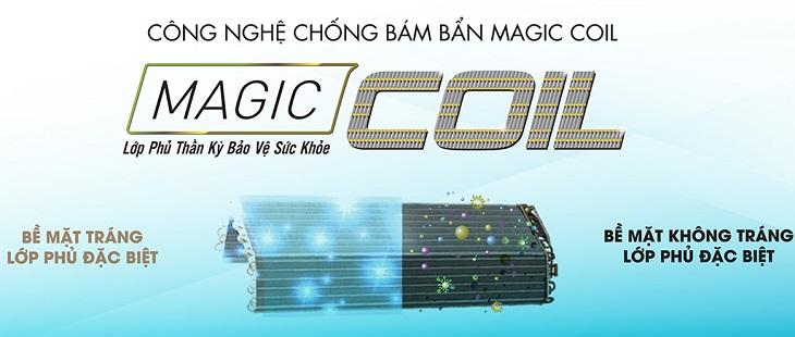 Công nghệ chống bám bẩn Magic Coil là gì?