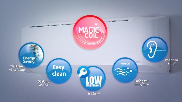 Lợi ích của công nghệ Magic Coil