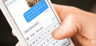 Mẹo thao tác nhanh gõ chữ trên iPhone
