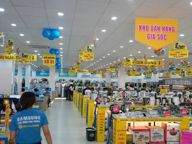 Siêu thị Điện máy Xanh Bình Hưng, Bình Chánh, Hồ Chí Minh
