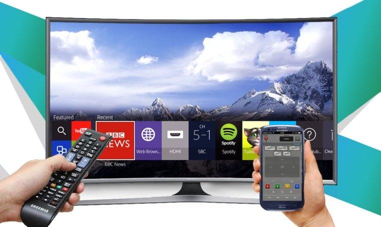 Điều khiển tivi bằng điện thoại dễ dàng