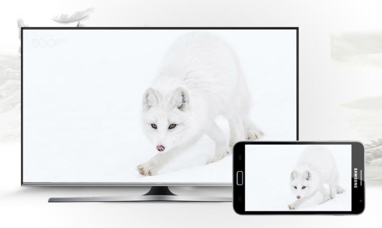 Phản chiếu hình ảnh từ điện thoại lên tivi dễ dàng