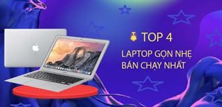 Top 4 laptop gọn nhẹ, bán chạy đáng mua tại Điện máy XANH