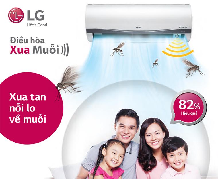 Tính năng chống muỗi nổi bật của LG