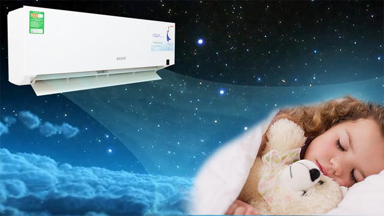 Máy điều hòa sanyo, mang đến cho bạn một giấc ngủ ngon