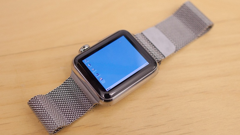 Windows 95 chạy được cả trên Apple Watch