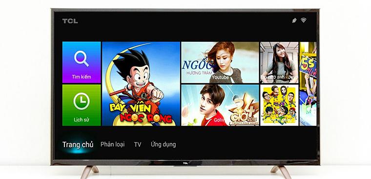 Cách cài ứng dụng ngoài trên Smart tivi TCL bằng file apk đơn giản