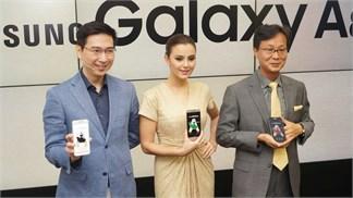 Galaxy A8 nguyên khối siêu mỏng, camera 16 MP giảm giá