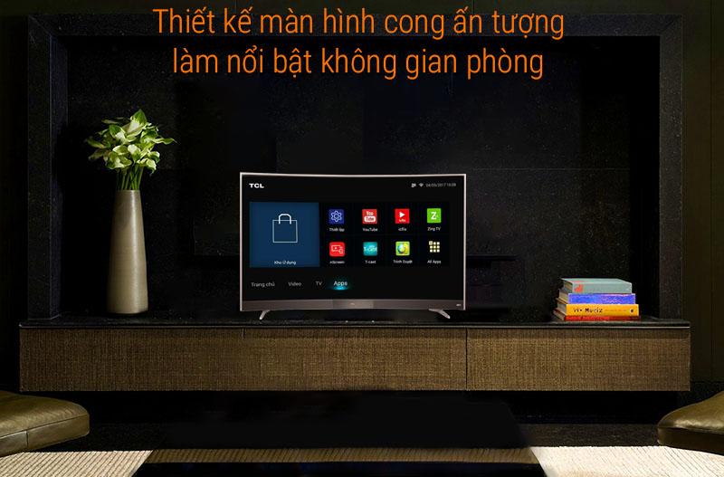 Smart Tivi TCL 55 inch L55P3-CF
