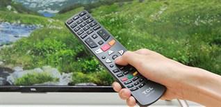 Cách dò kênh trên Smart tivi TCL 2016