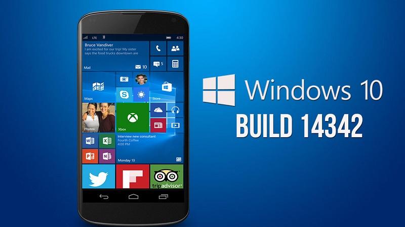 Người dùng Insider nhận bản cập nhật Windows 10 Mobile mới