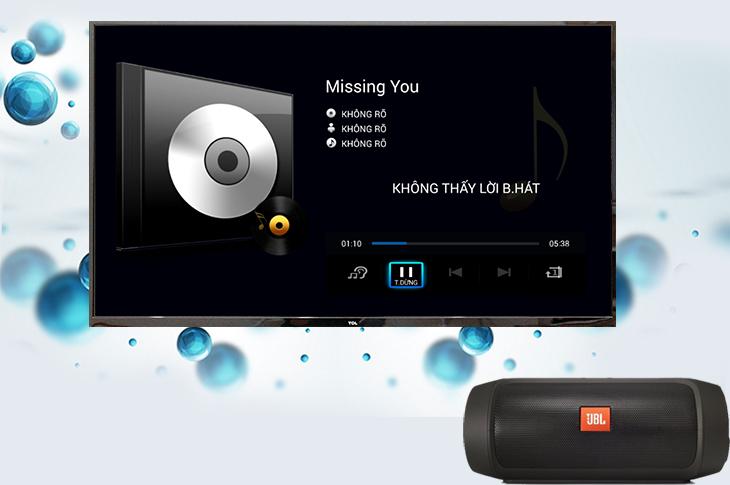 Sau khi kết nối, bạn có thể thoải mái nghe nhạc qua loa Bluetooth