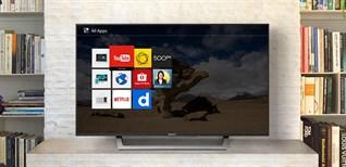 Cách cập nhật phần mềm cho Smart tivi Sony 2016 bằng mạng internet