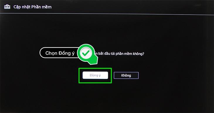 Chọn Đồng ý tải phần mềm
