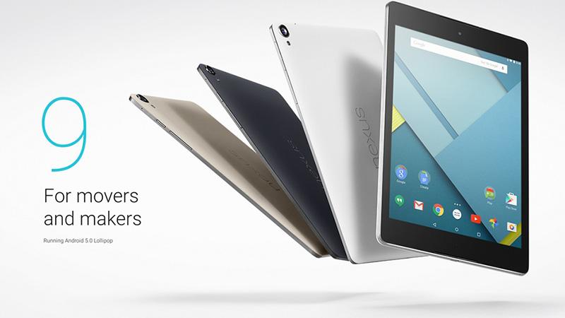 HTC xác nhận ngừng dây chuyền sản xuất Nexus 9