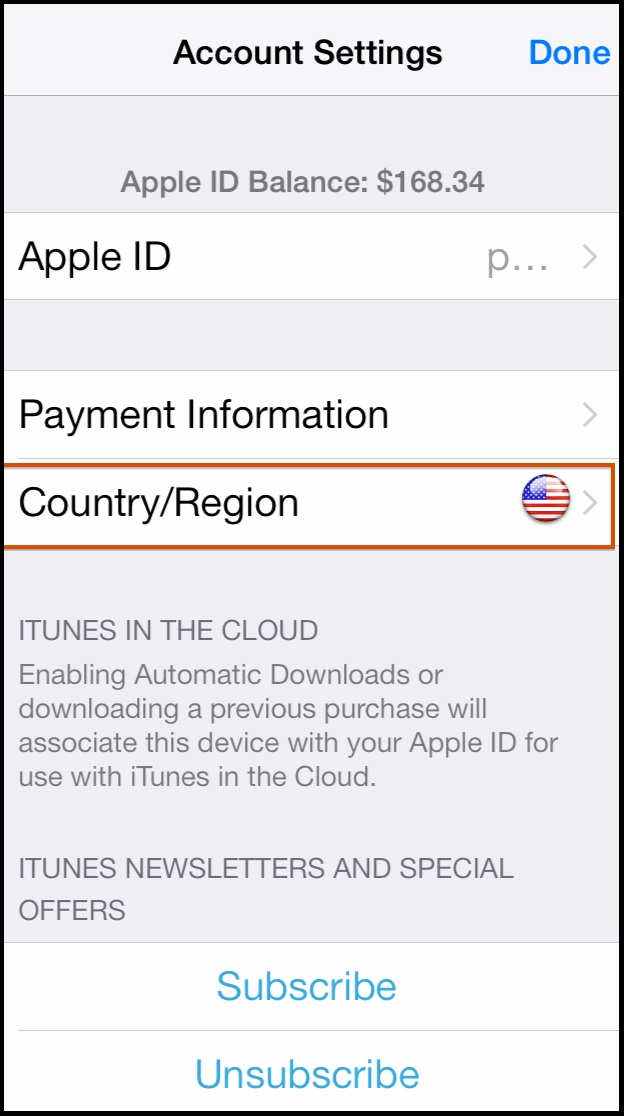 doi vung apple id 4