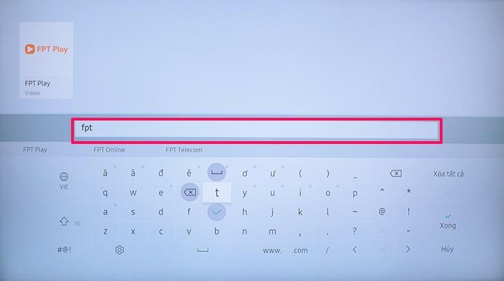Cách tải ứng dụng trên Smart tivi Samsung