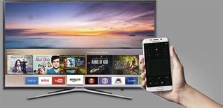 Cách điều khiển smart tivi Samsung bằng điện thoại giúp nhập chữ, số nhanh