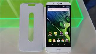 Acer ra mắt smartphone pin đến 5.000 mAh, giá khá tốt