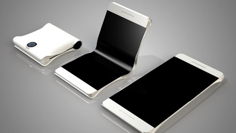 Smartphone màn hình gập của Samsung lại xuất hiện