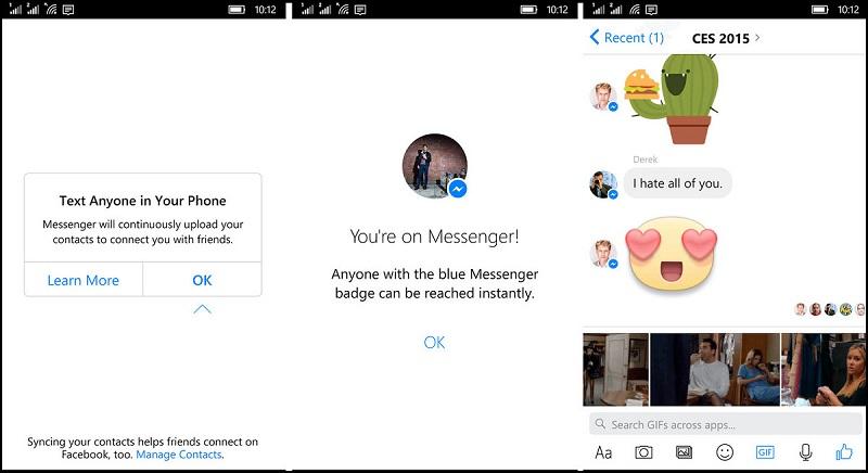 messenger beta1