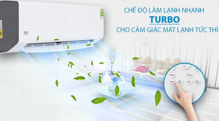 Công nghệ Turbo - máy lạnh Beko